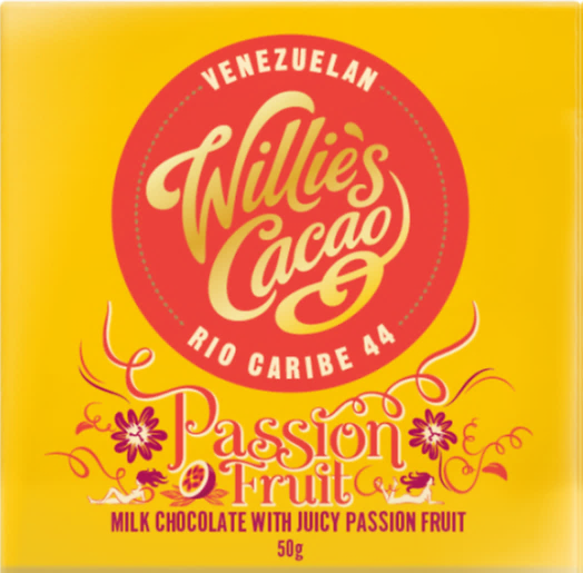 PASSION FRUIT Milk chocolate with juicy passion fruit 50g x 12