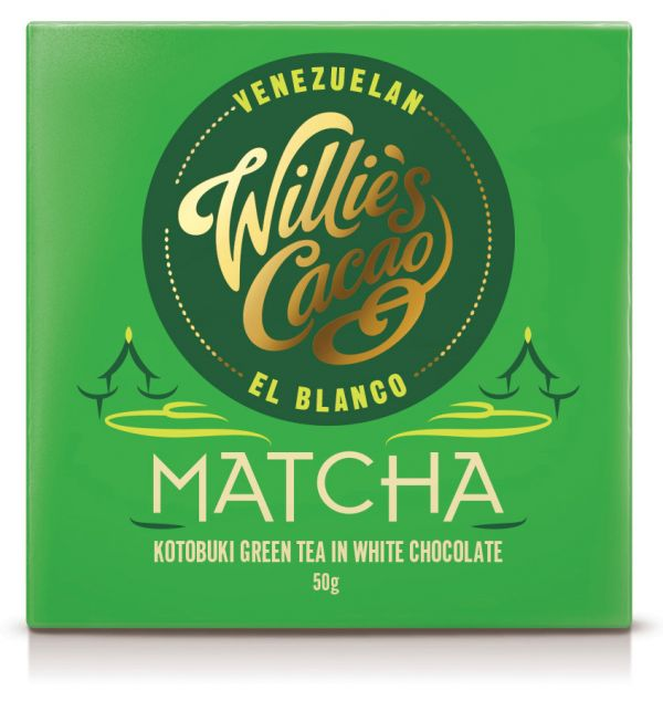 MATCHA White chocolate with Kotobuki Green Tea 50g x 12