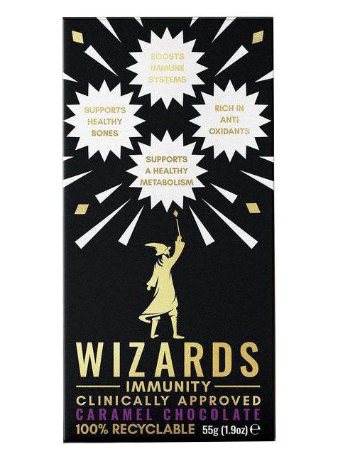 Wizards Adult Immunity Caramel 55g x 12