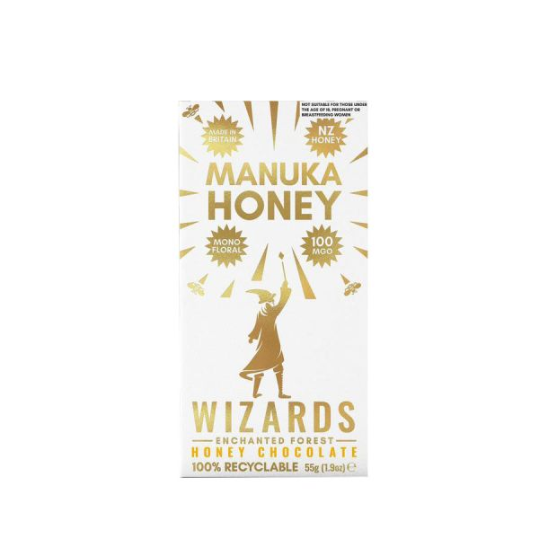 Wizards Enchanted Forest Manuka Honey 55x 12