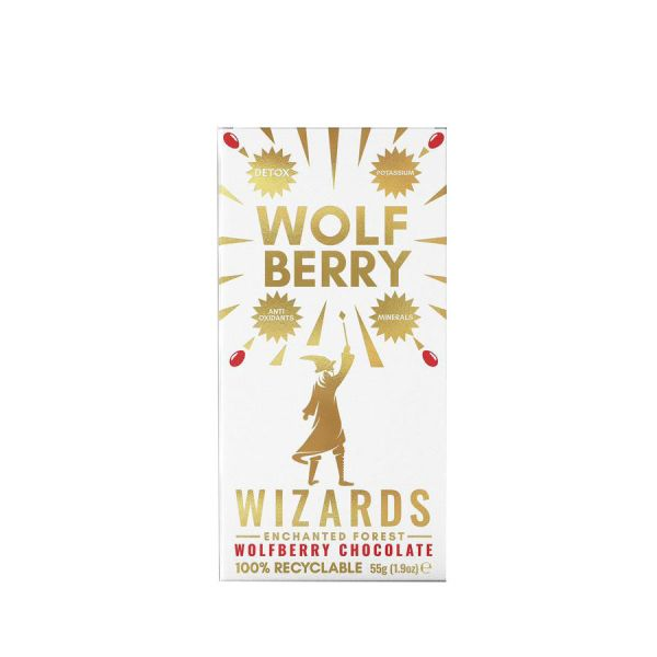 Wizards Enchanted Forest Wolf Berry 55 x 12