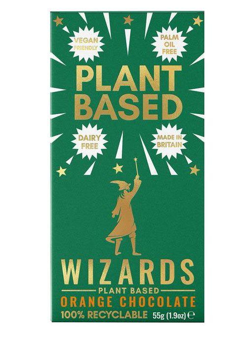 Wizard Plant Based Orange Chocolate 55g x 12