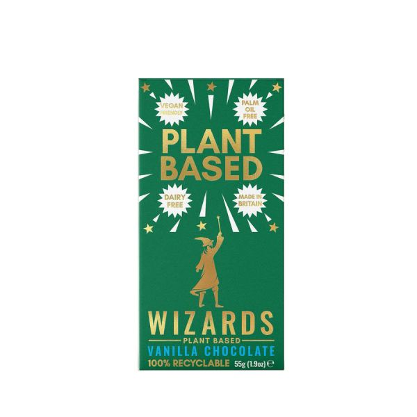 Wizards Plant Based Vanilla 55 x 12