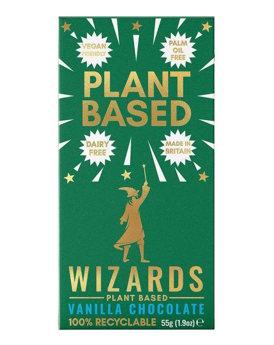 Wizards Plant Based Vanilla 55g x 12