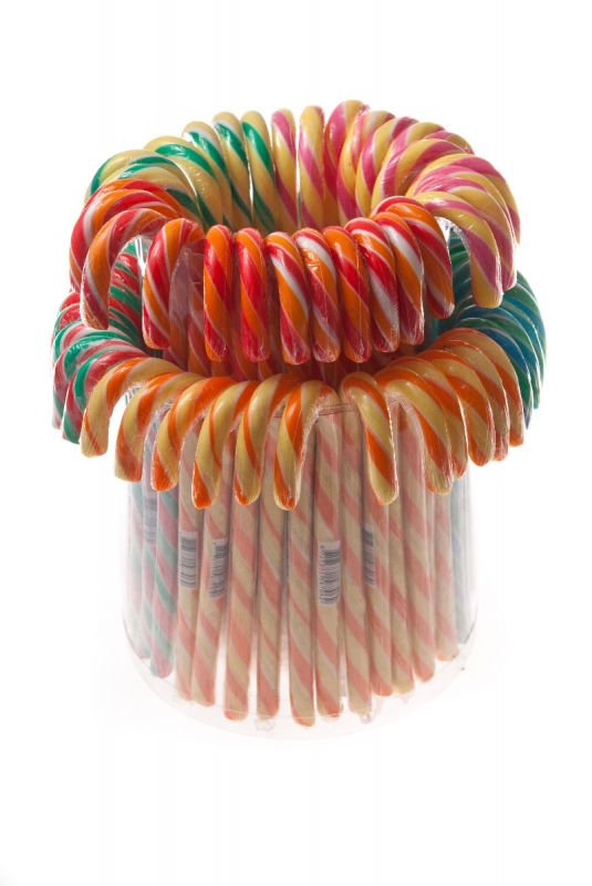 Candy Canes Fruit Flavour 30g x 72 SHORT DATED 15/7/2020